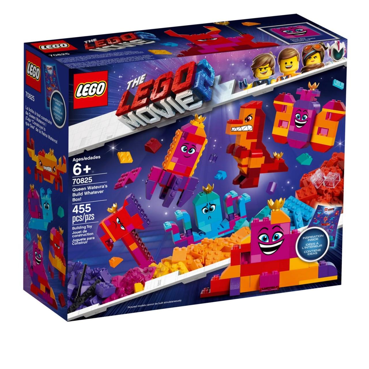 THE LEGO MOVIE 2 70825 Königin Wasimma Si-Willis Bau-Was-Du-Willst-Box!