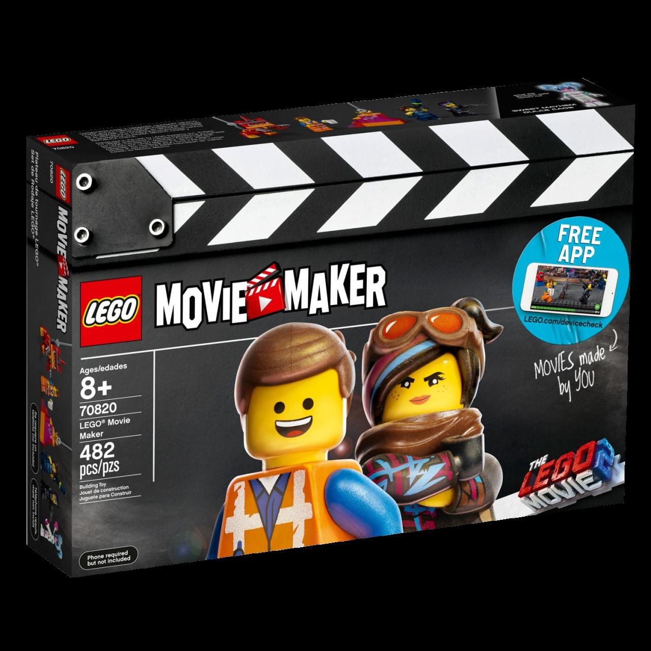 THE LEGO MOVIE 2 70820 Movie Maker
