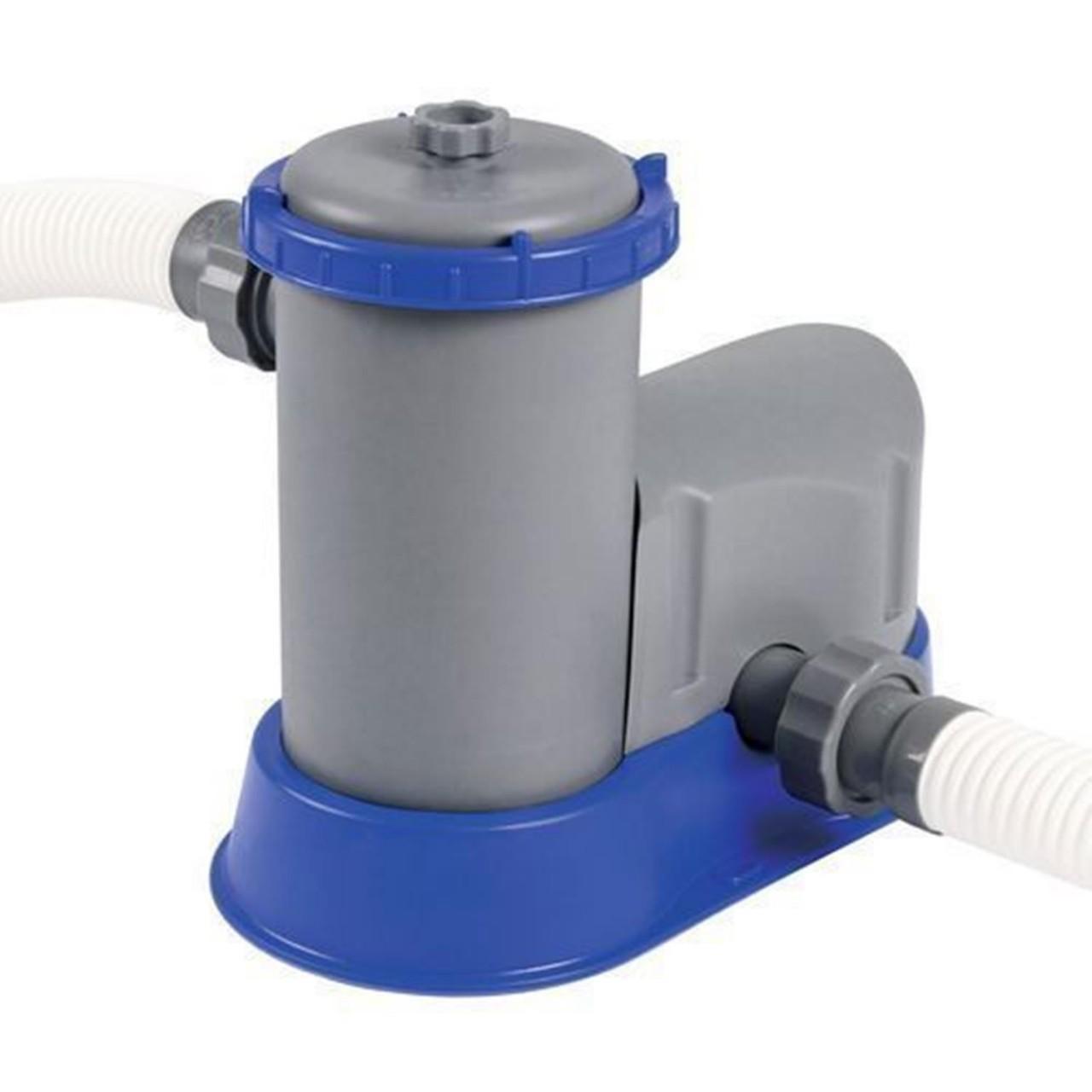 Bestway 58389 Filterpumpe Flowclear Poolreinigung + Filter Pumpleistung 5.678L/h