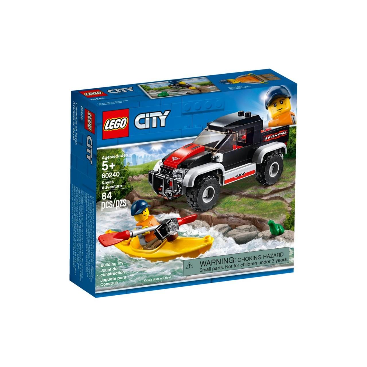 LEGO CITY 60240 Kajak-Abenteuer