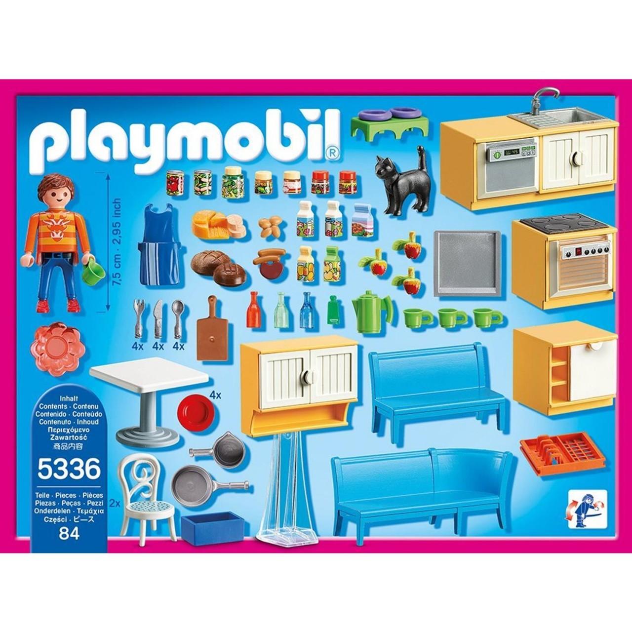 Playmobil 5336 Einbauküche mit Sitzecke