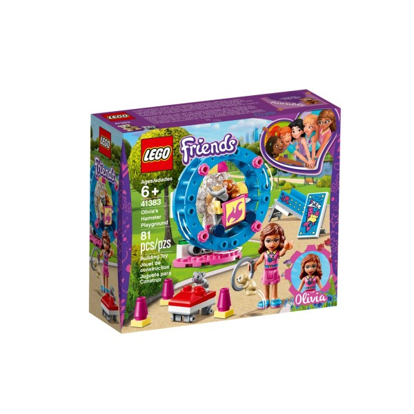 LEGO FRIENDS 41383 Olivias Hamster-Spielplatz