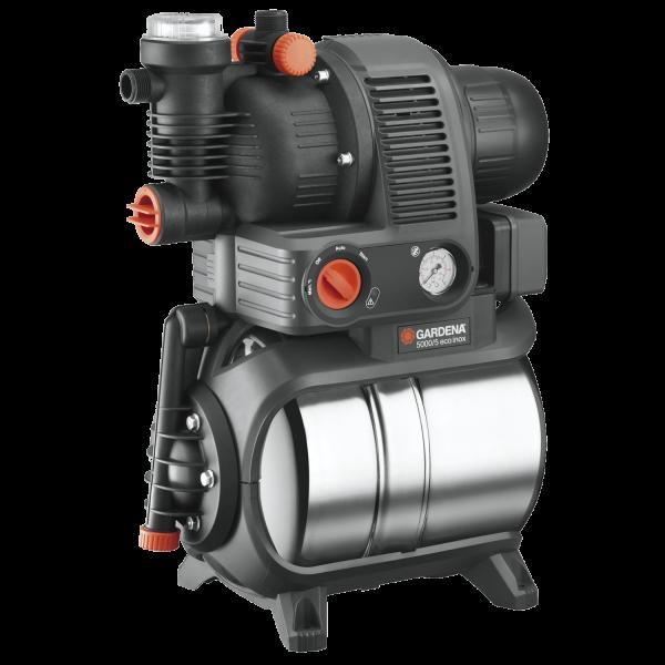 Gardena 1756-20 Hauswasserwerk 5000/5 Gartenbewässerung Pumpe Premium 4500 l/h