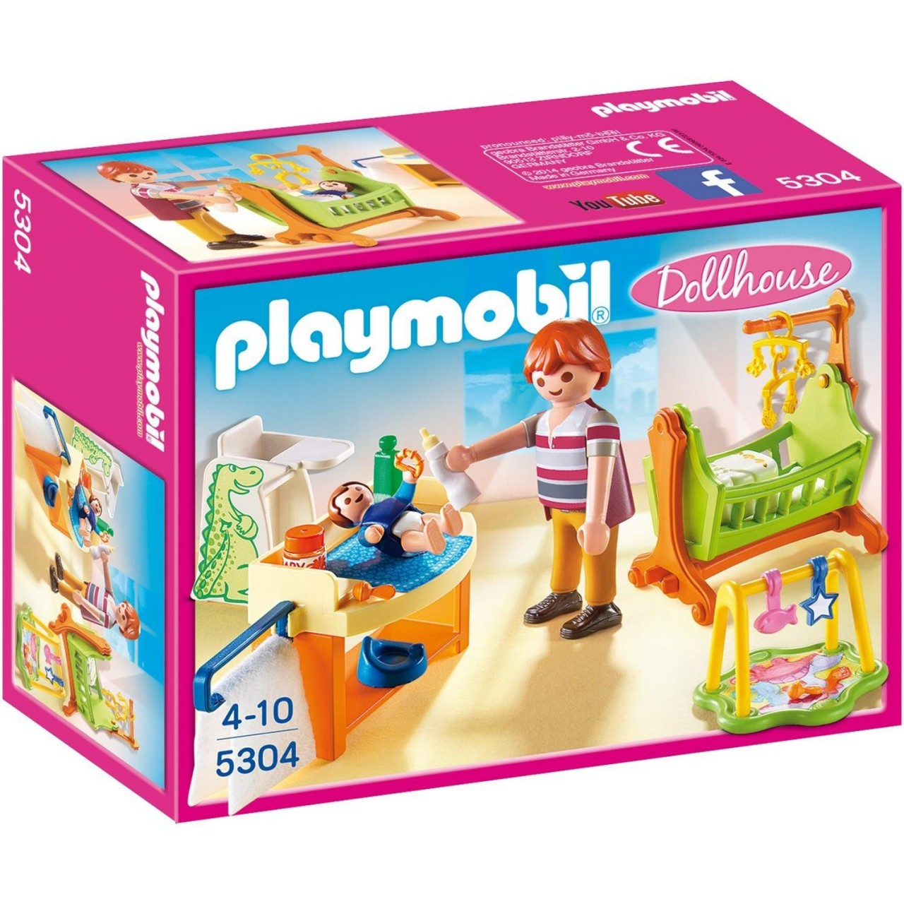 Playmobil 5304 Babyzimmer mit Wiege
