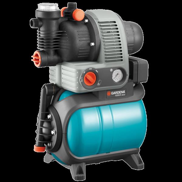 Gardena 1754-20 Hauswasserwerk 4000/5 Gartenbewässerung Pumpe Classic 3500 l/h