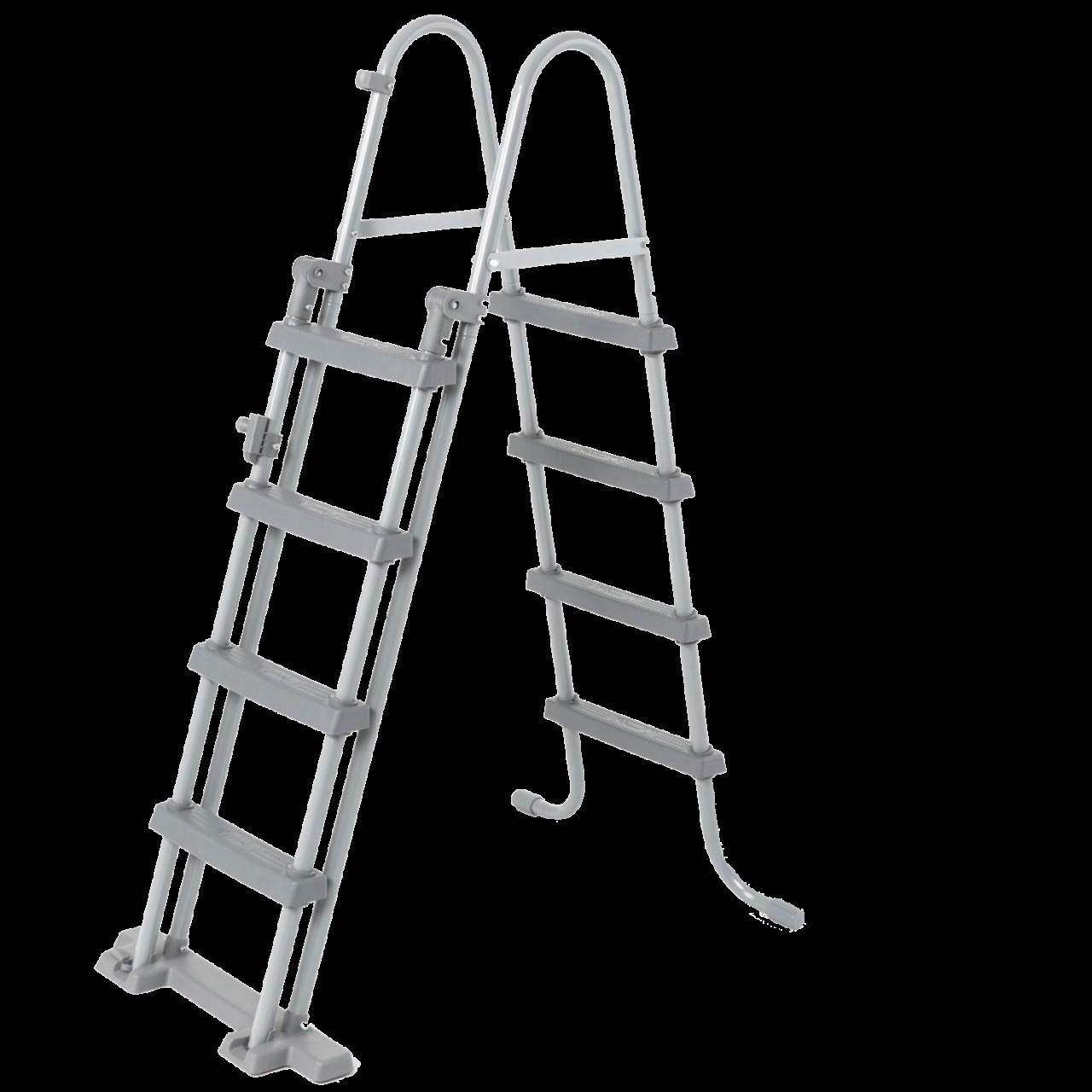 Bestway 56457 Power Steel Frame rechteckig Komplett-Set 412x201x122 cm
