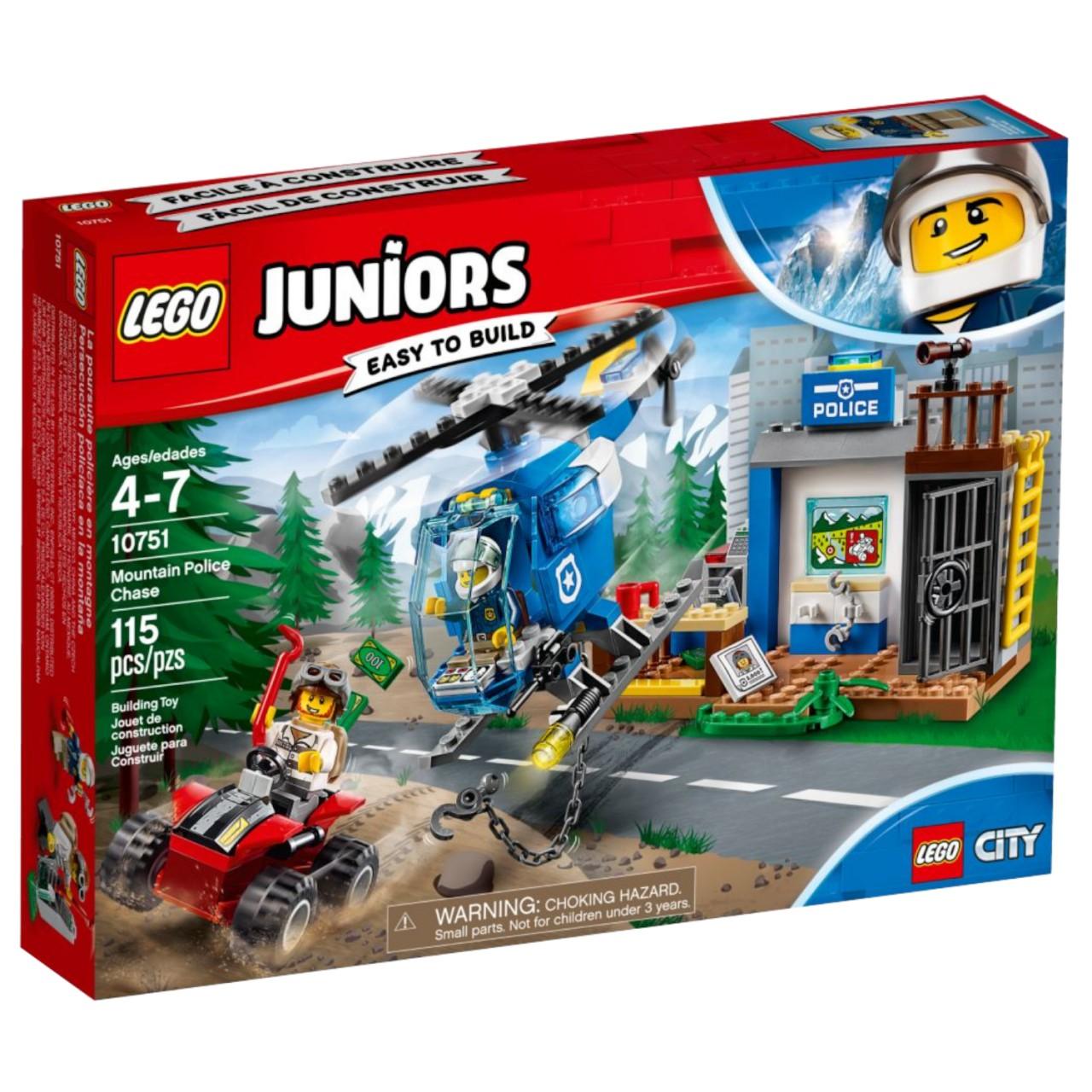 LEGO JUNIORS 10751 Gebirgspolizei auf Verfolgungsjagd