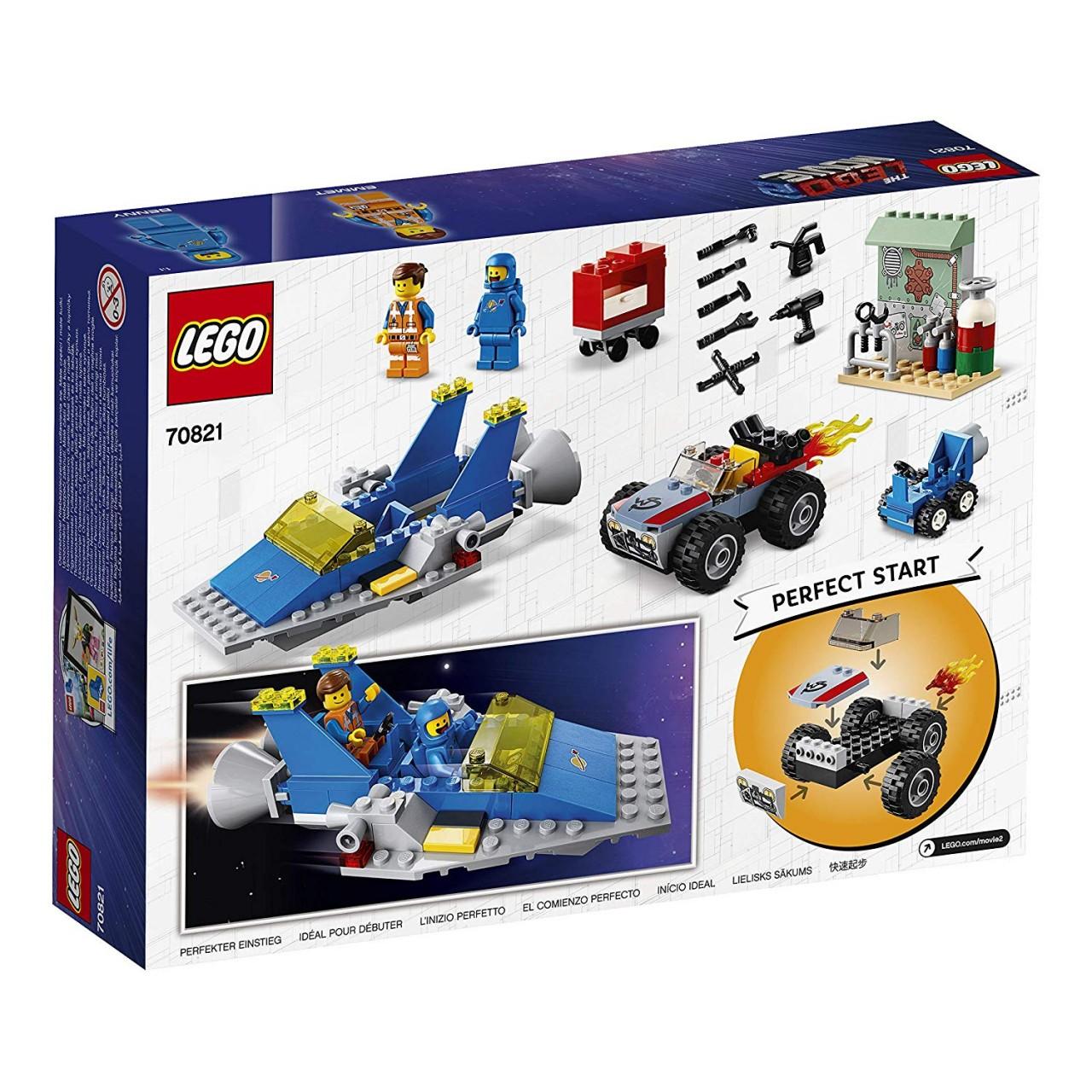 THE LEGO MOVIE 2 70821 Emmets und Bennys Bau- und Reparaturwerkstatt!