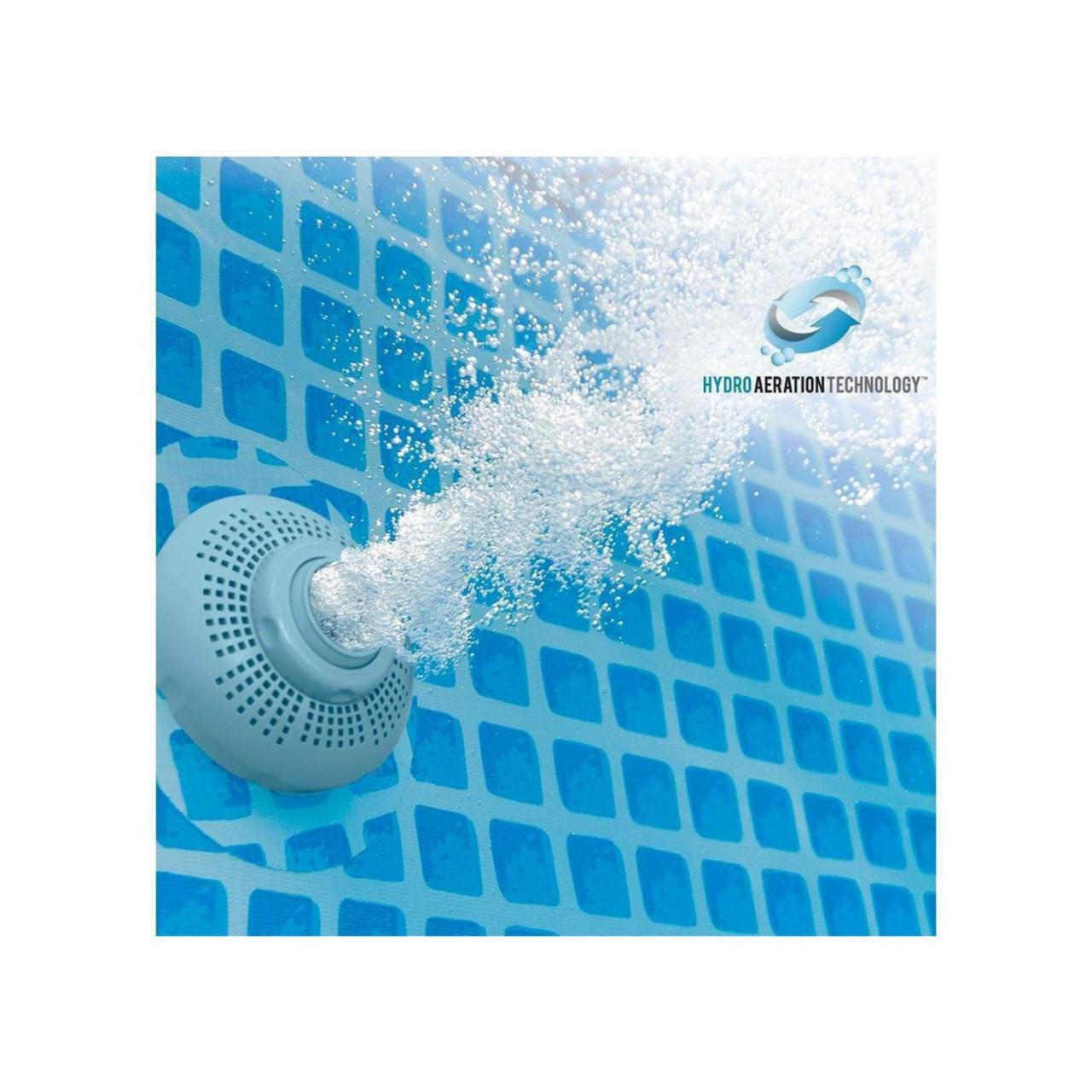 Intex 26680 Sandfilterpumpe mit Chlorinator Salzwassersystem Filterpumpe 10.000 l/h