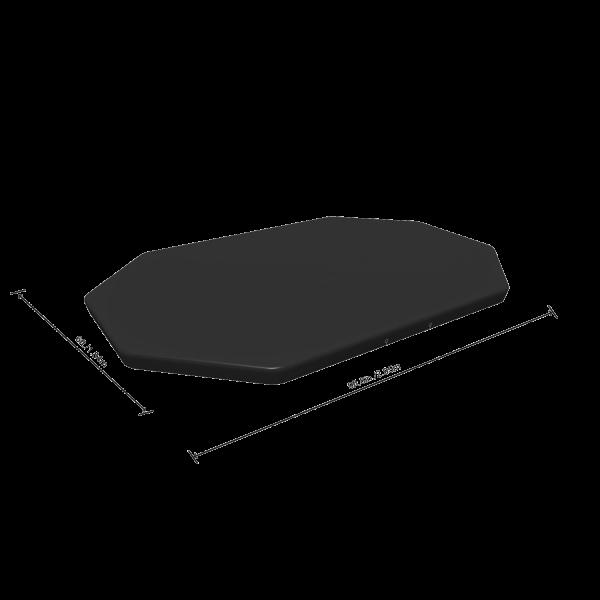 Bestway 58424 Pool Abdeckung für 305x200cm Power Steel Pool Oval