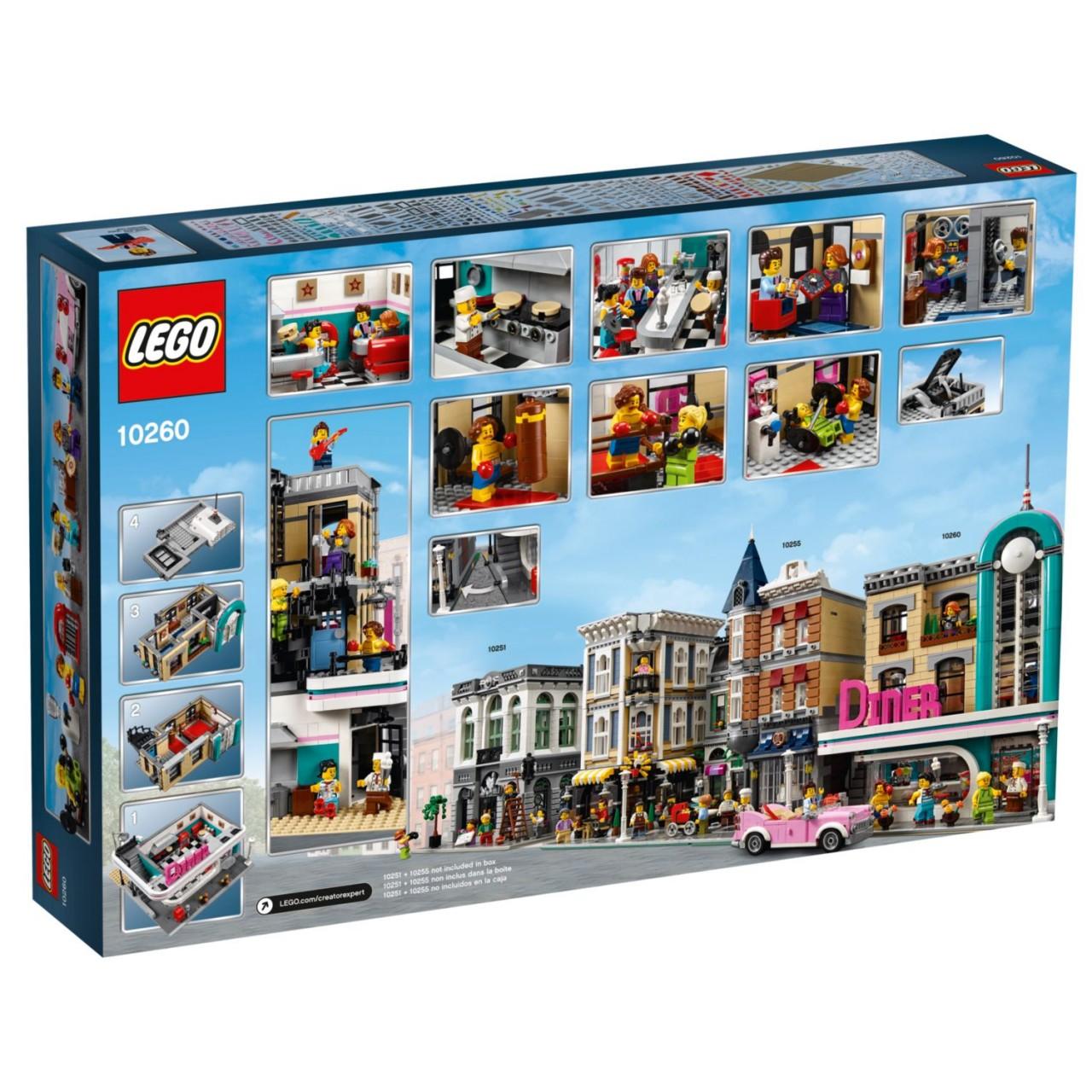 LEGO CREATOR 10260 Amerikanisches Diner