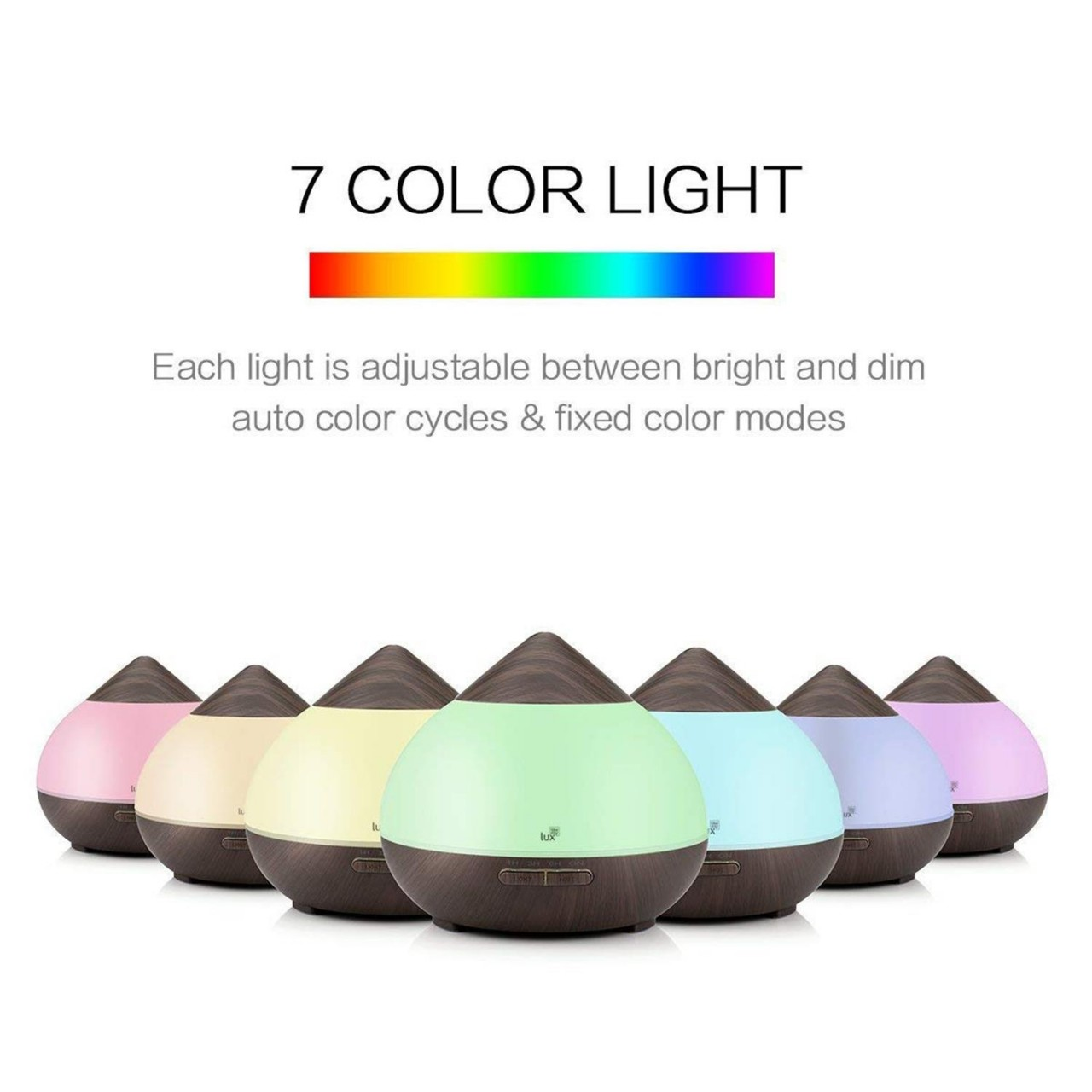 Aroma Diffuser Likemylux 300ml Luftbefeuchter Ultraschall Öl Diffusor LED