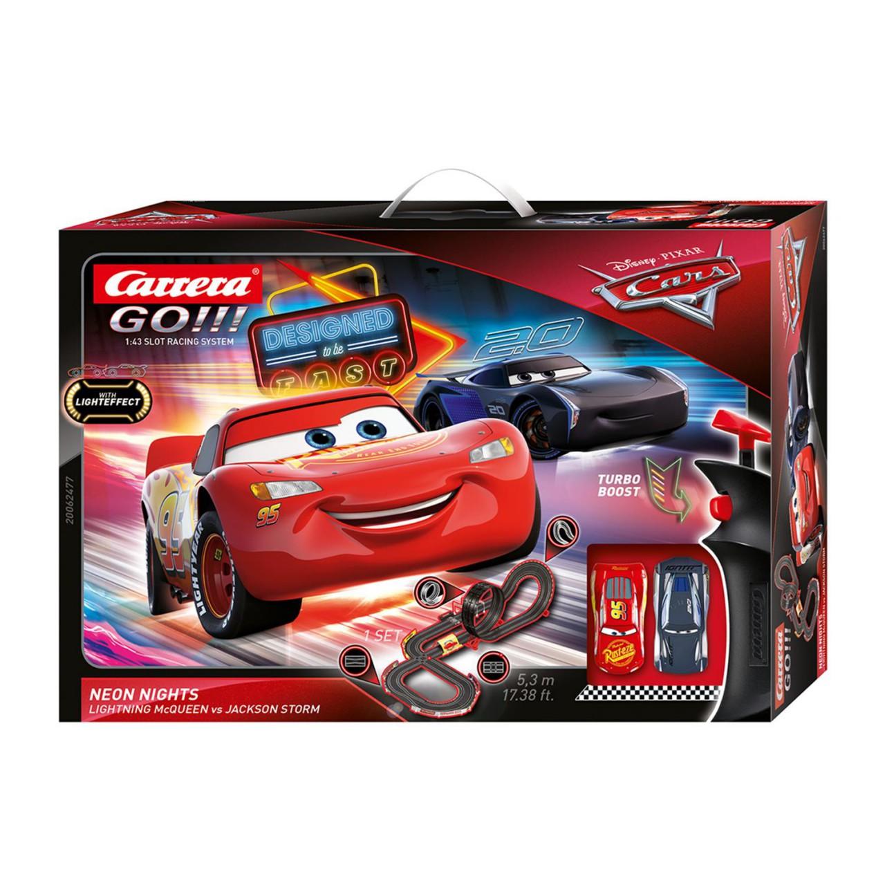 Carrera GO!!! 20062477 Disney-Pixar Cars - Neon Nights