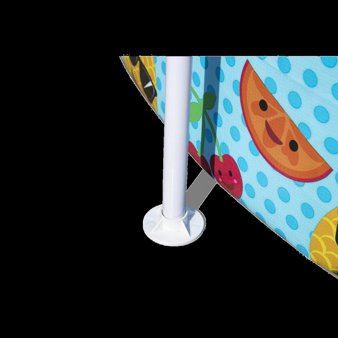 Bestway 56432 Steel Pro Frame Pool UV Careful Splash-in-Shade Play Kinderpool