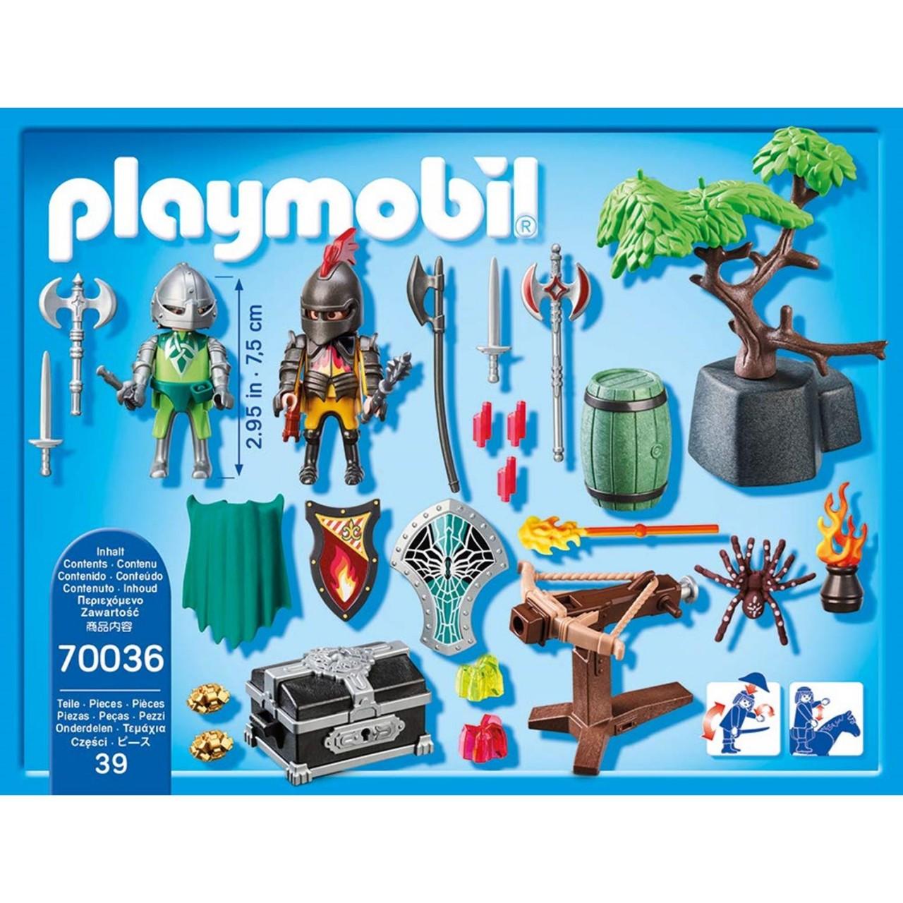 Playmobil 70036 StarterPack Kampf um den Ritterschatz
