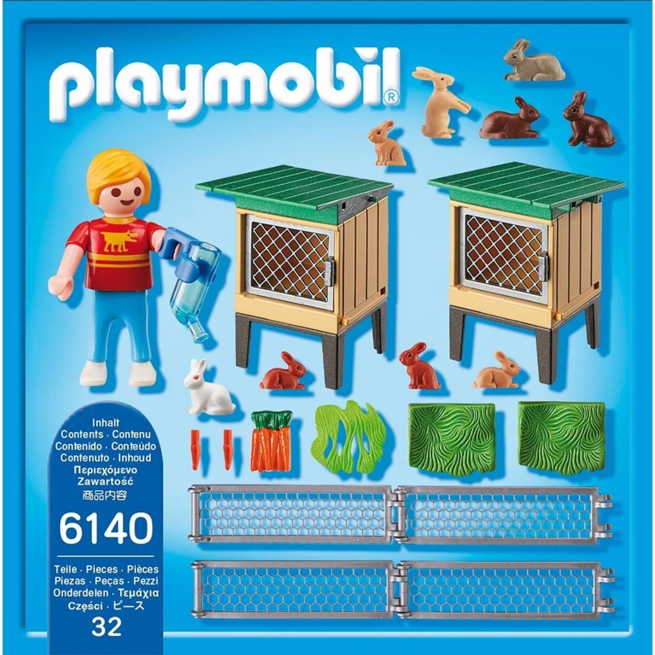 Playmobil 6140 Hasenstall mit Freigehege