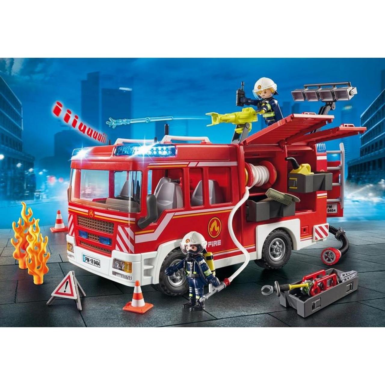 Playmobil 9464 Feuerwehr-Rüstfahrzeug