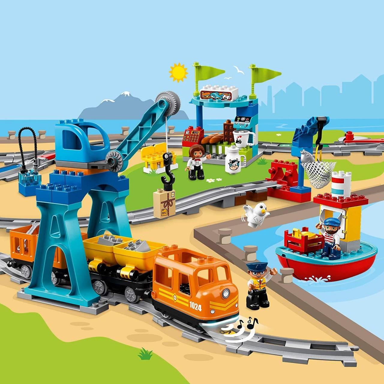 LEGO DUPLO 10875 Güterzug