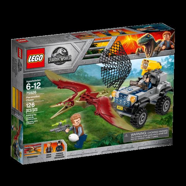 LEGO JURASSIC WORLD 75926 Pteranodon-Jagd