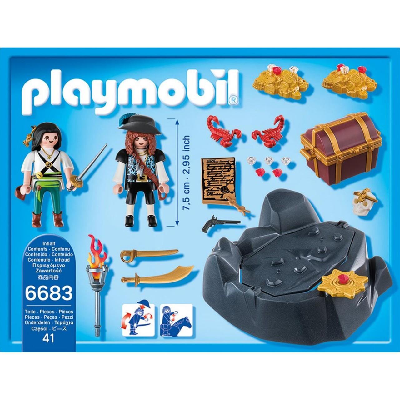 Playmobil 6683 Piraten-Schatzversteck