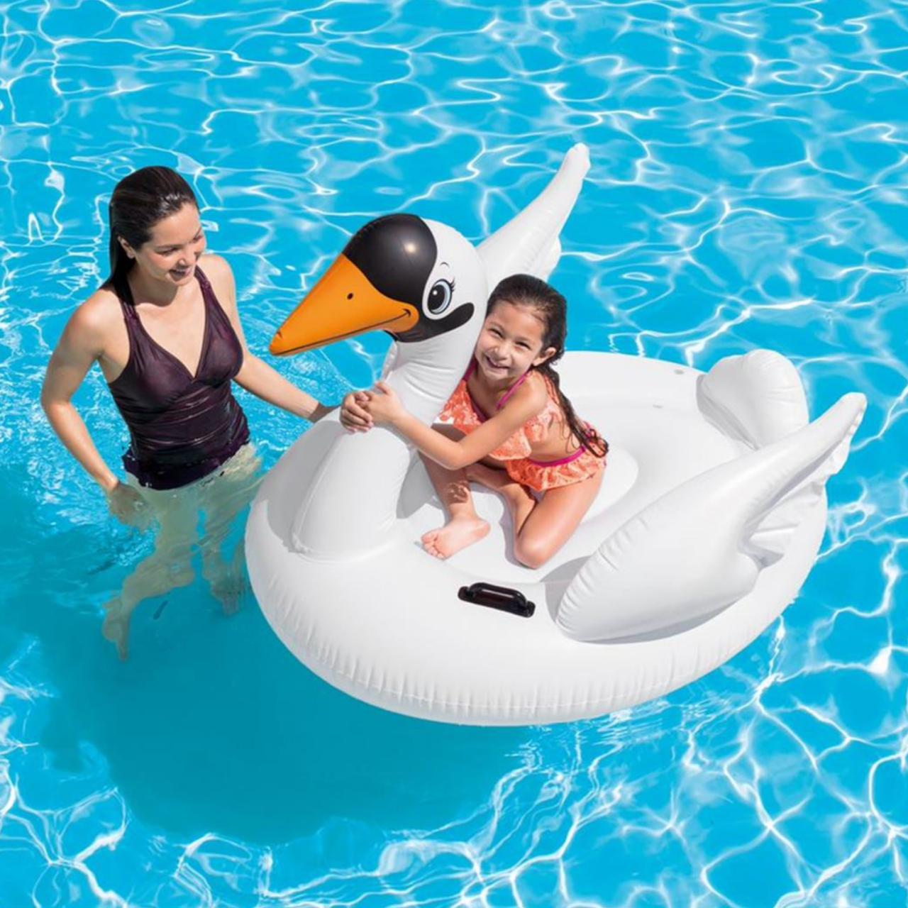 Intex RideOn Schwan - aufblasbares Schwimmtier