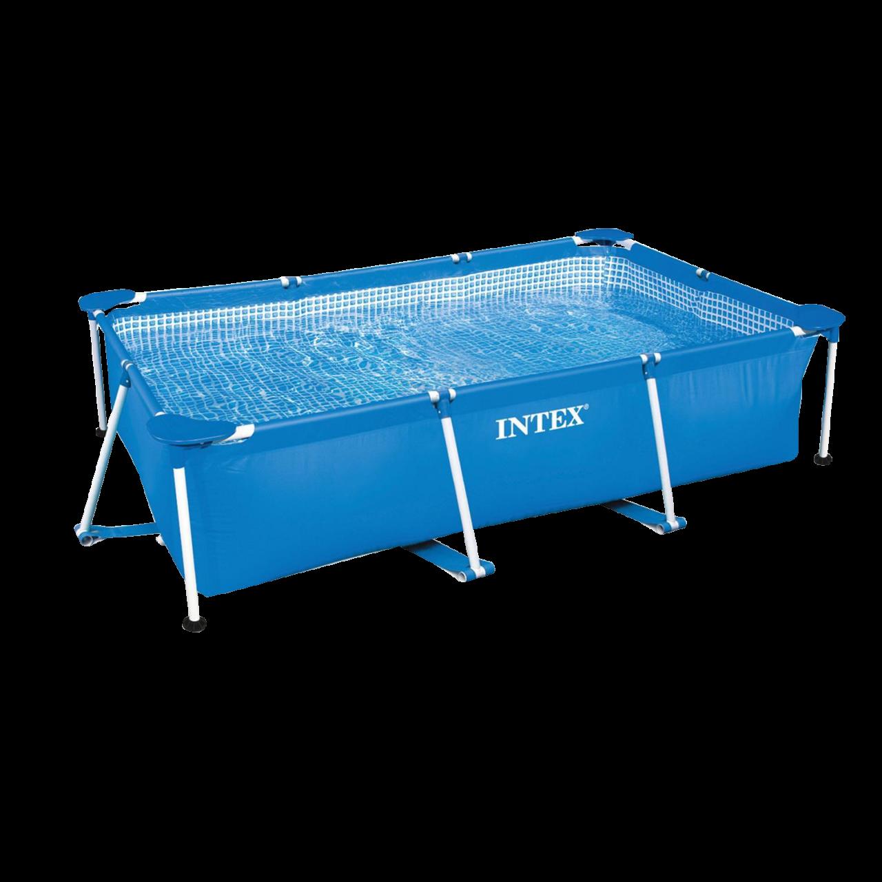 Intex 28271 Family Schwimmbad Pool Rechteck Frame Swimmingpool 260x160x65cm