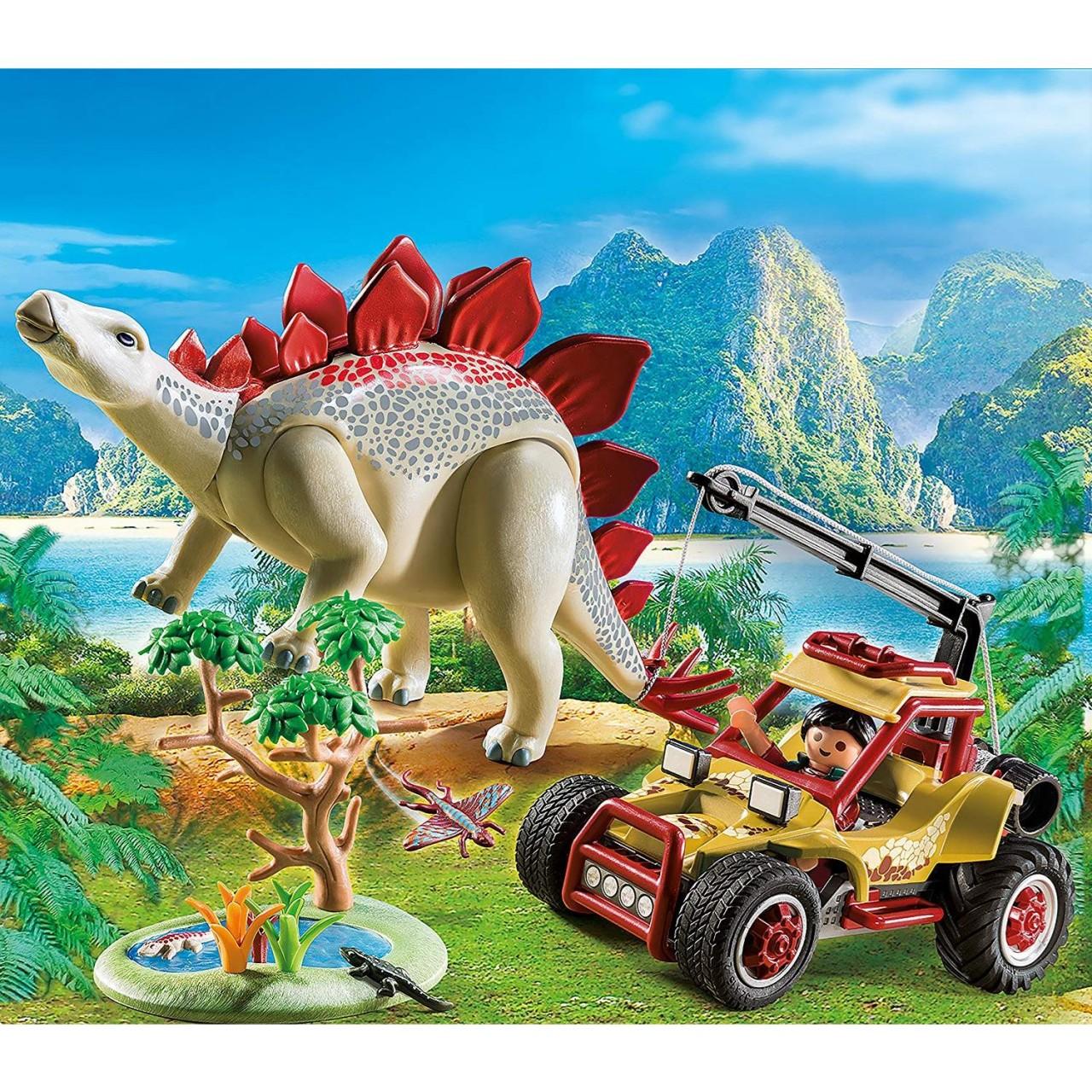 Playmobil 9432 Forschermobil mit Stegosaurus