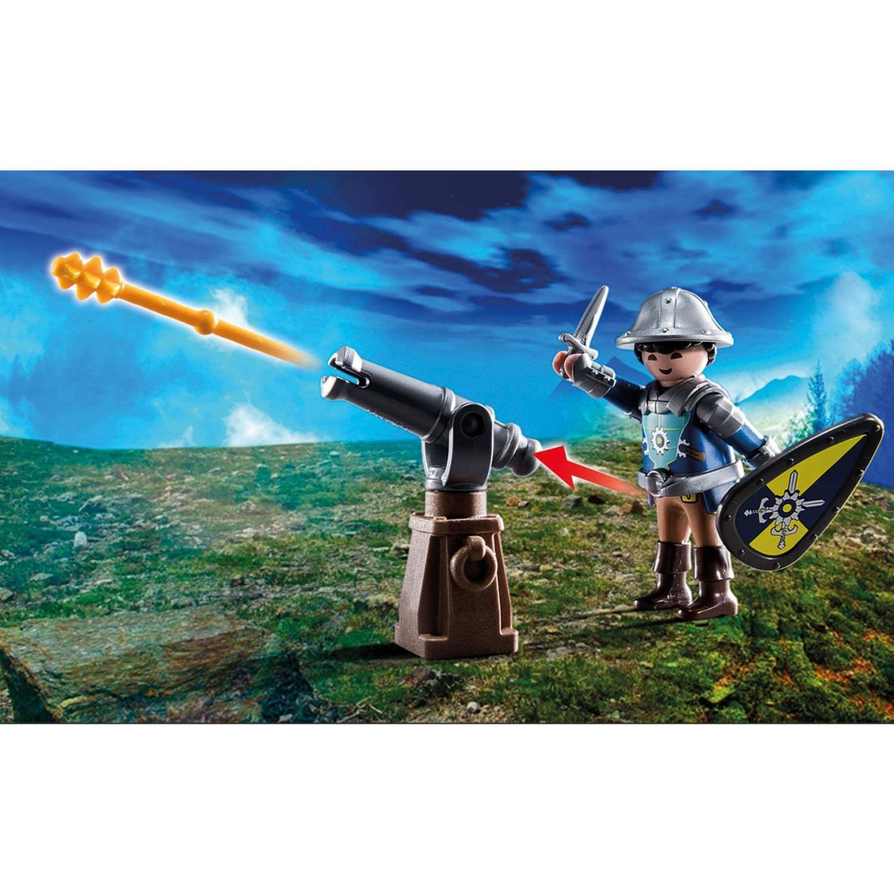 Playmobil 70539 Burnham Raiders Feuerruine