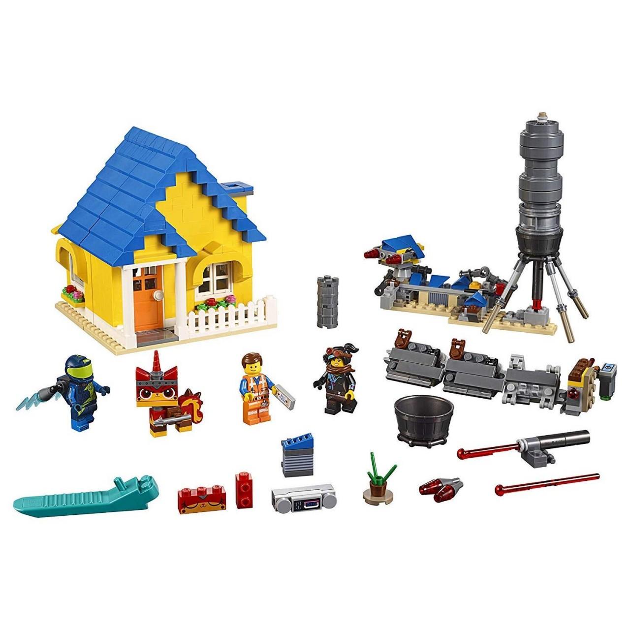 THE LEGO MOVIE 2 70831 Emmets Traumhaus/Rettungsrakete!