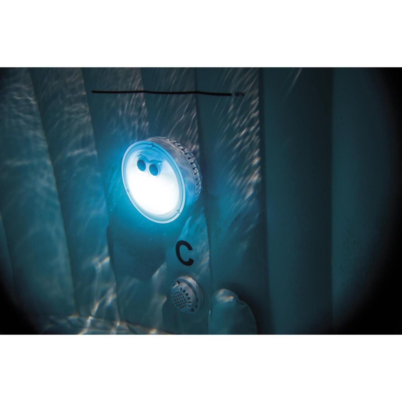 Intex 28503 LED Licht Beleuchtung 5 Farben Whirlpool PureSpa Bubble Jacuzzi