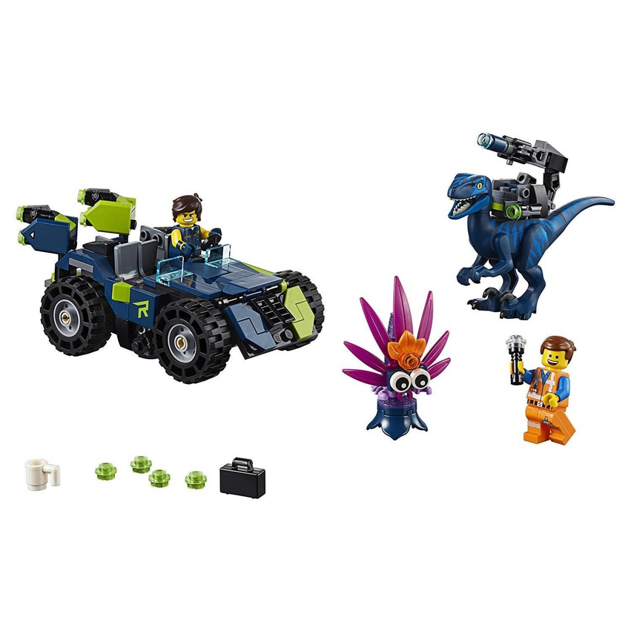 """THE LEGO MOVIE 2 70826 Rex' """"Rextremes"""
