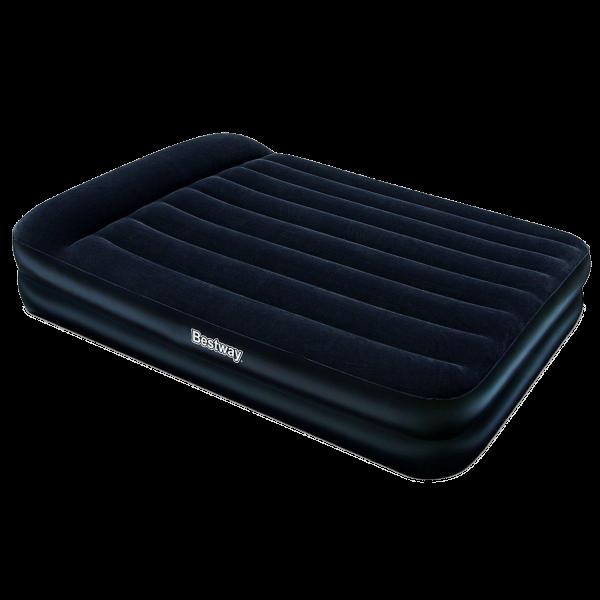 Bestway Luftbett mit Pumpe Gästebett Luftmatratze 203x152x46 cm selbstaufblasend
