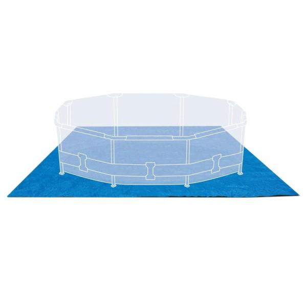 Intex Bodenplane Bodenschutzplane Pool 472x472cm für Easy Set und Frame Pools