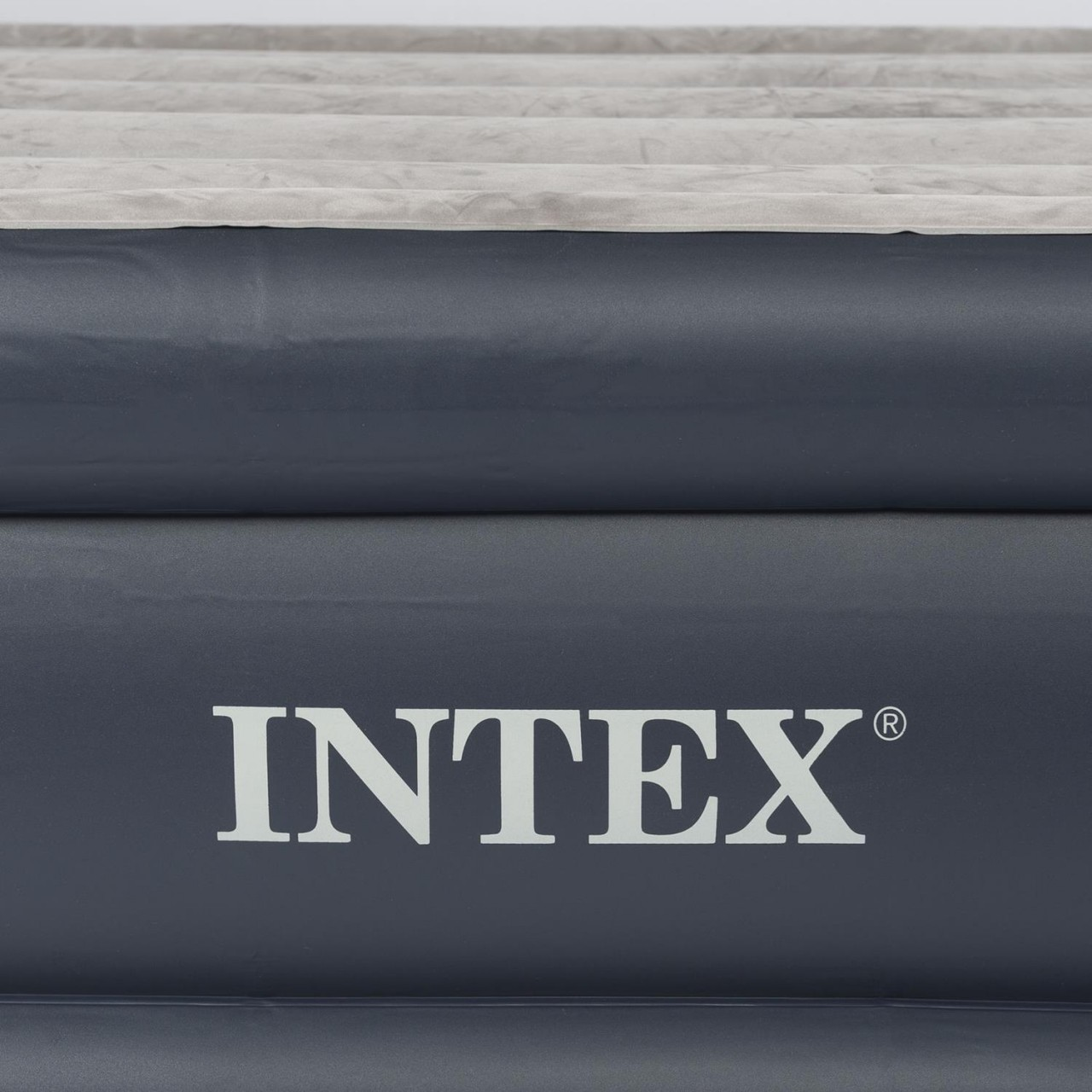 Intex Luftbett Güstebett Luftmatratze 152x203x42 cm inkl. Pumpe selbsaufblasend
