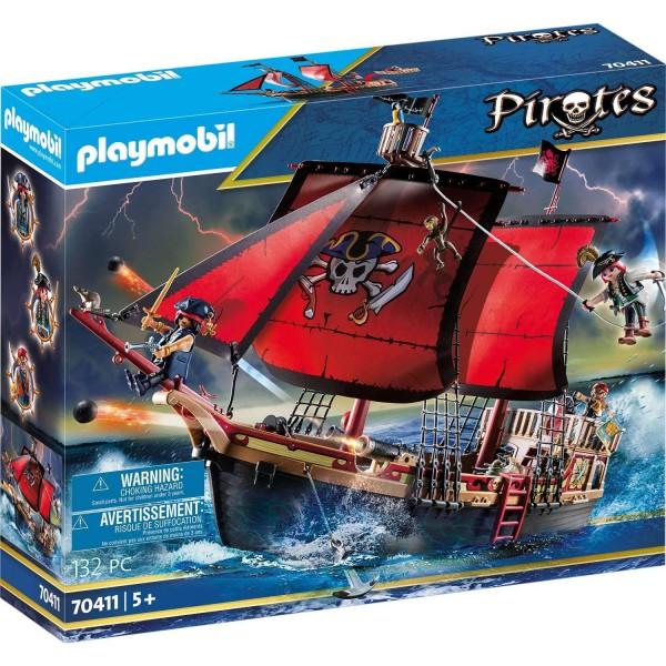 Playmobil 70411 Totenkopf-Kampfschiff