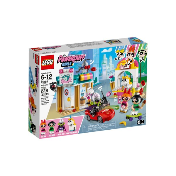 LEGO THE POWERPUFF GIRLS 41288 Angriff von Mojo Jojo