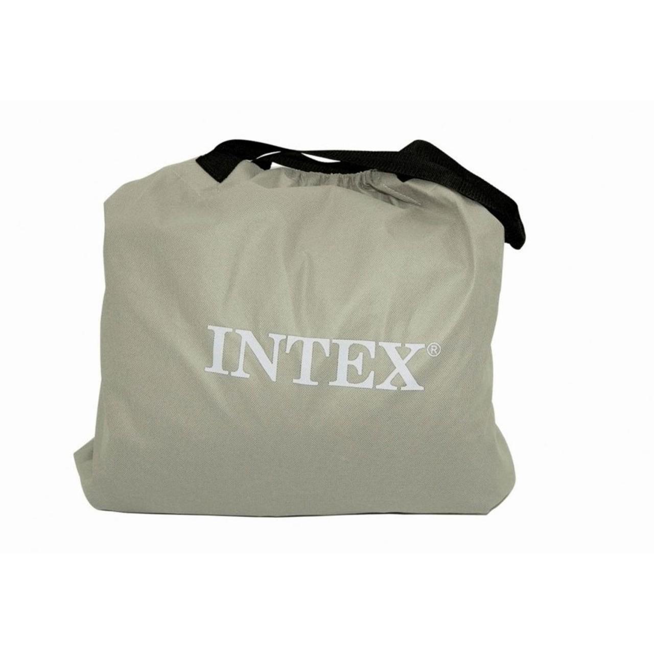 Intex Luftbett mit Pumpe Single Güstebett Matratze selbstaufblasend 191x99x46cm