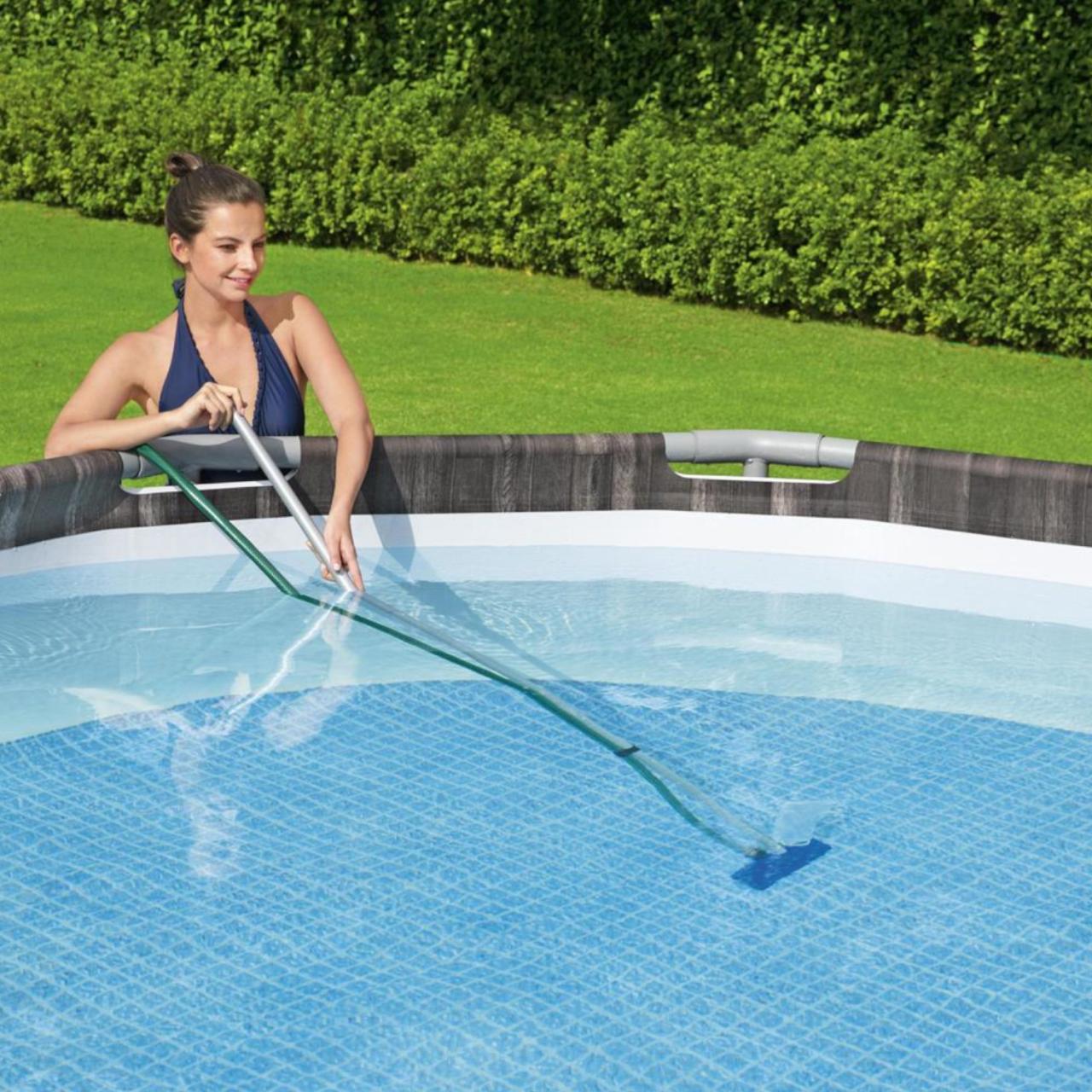 Bestway Flowclear Reinigungsset Bodenreiniger Kescher Sauger Poolpflege 58013