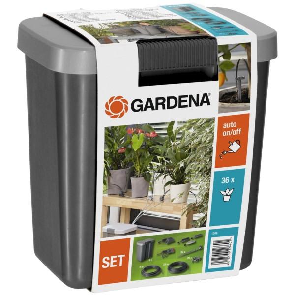 Gardena Urlaubsbewässerung-Set mit Vorratsbehälter 1266-20 Bewässerungssystem