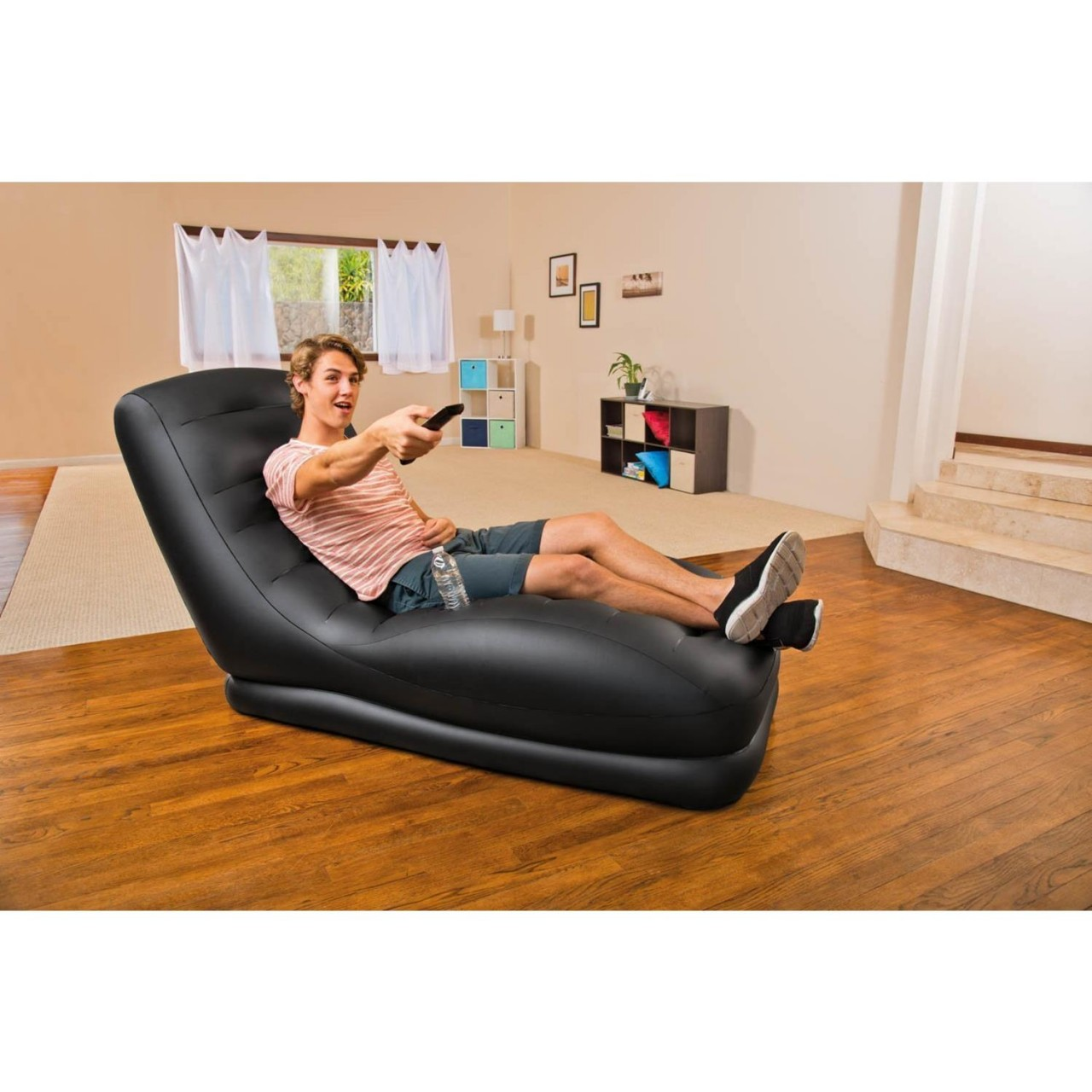 Intex 68585 Luftsessel Mega Lounge Liege Gamersessel Couch Sitz 173x81x91cm