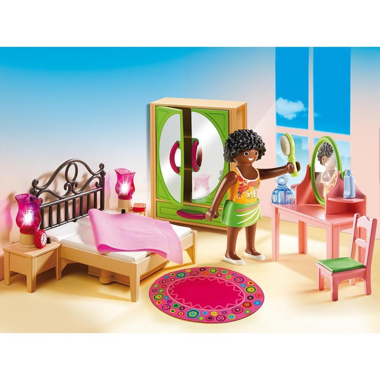 Playmobil 5309 Schlafzimmer mit Schminktischchen