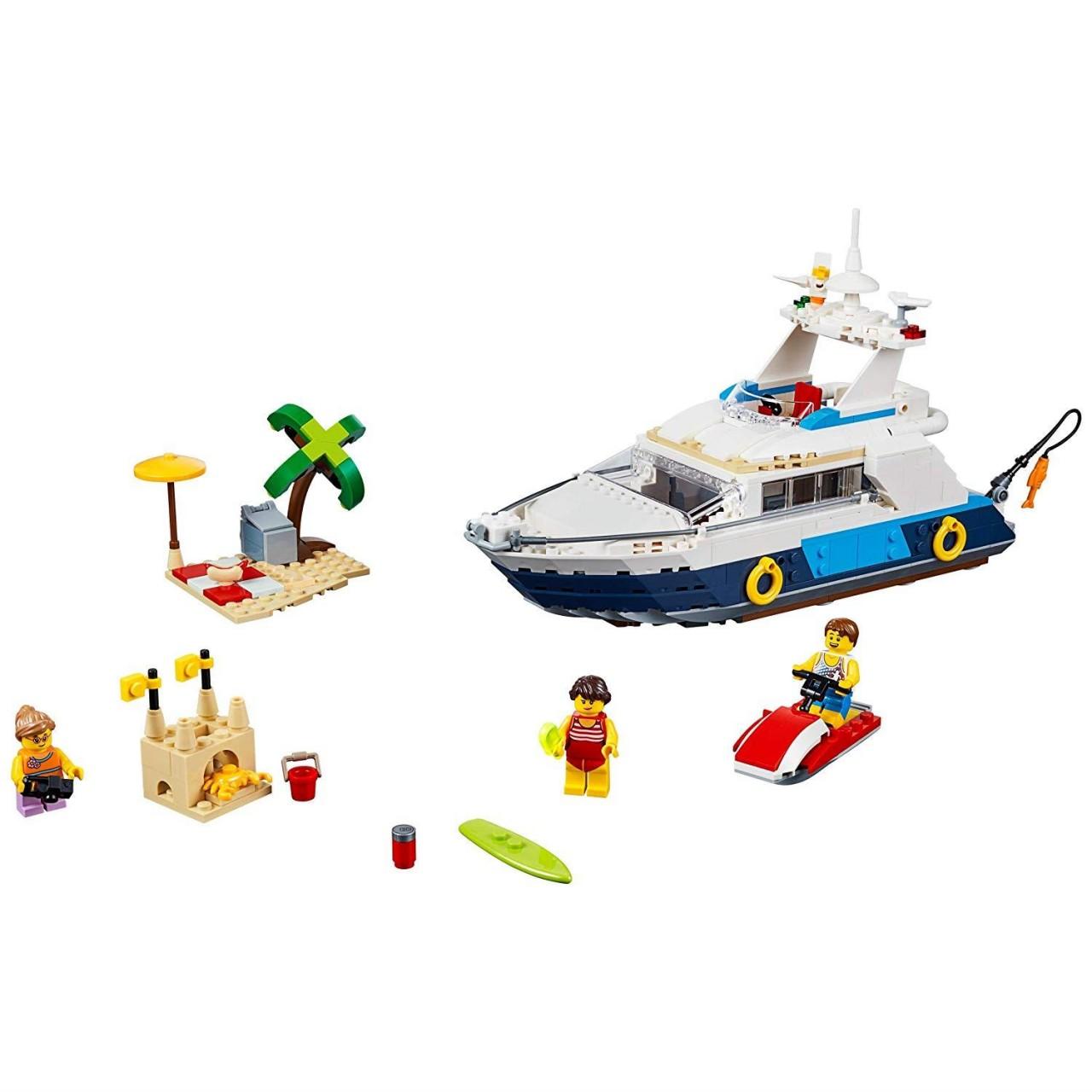 LEGO CREATOR 31083 Abenteuer Yacht