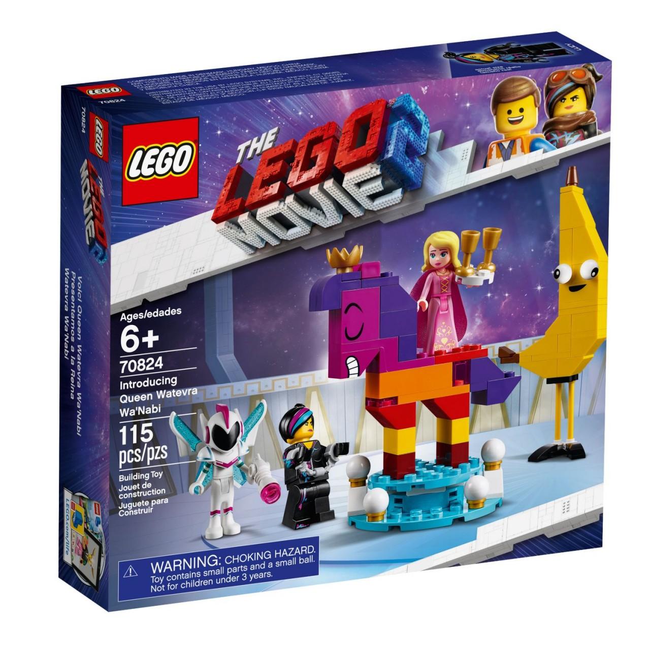 THE LEGO MOVIE 2 70824 Das ist Königin Wasimma Si-Willi