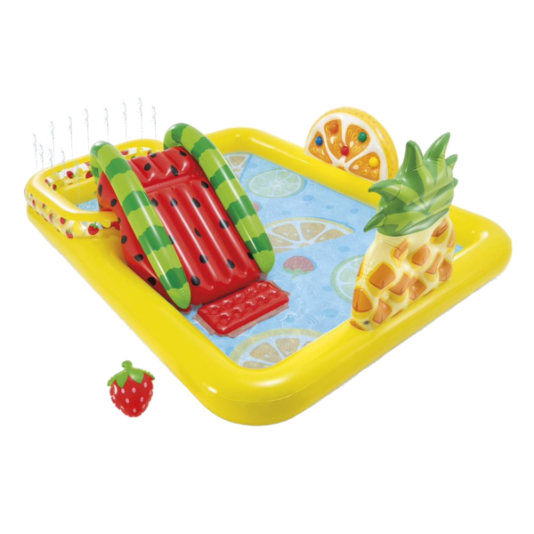 Intex Play Center Aufblasbarer Kinderpool Fun and Fruity 244x191x91 cm 57158