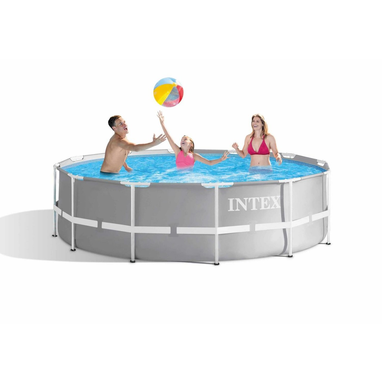 Intex 26716 Frame Pool Set Prism Rondo Ø 366 x 99 cm Schwimmbecken Pool