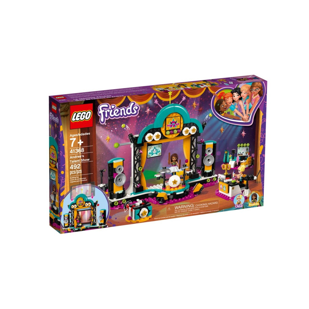 LEGO FRIENDS 41368 Andreas Talentshow
