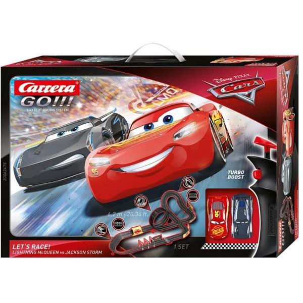 Carrera GO!!! 20062475 Disney-Pixar Cars - Let's Race!