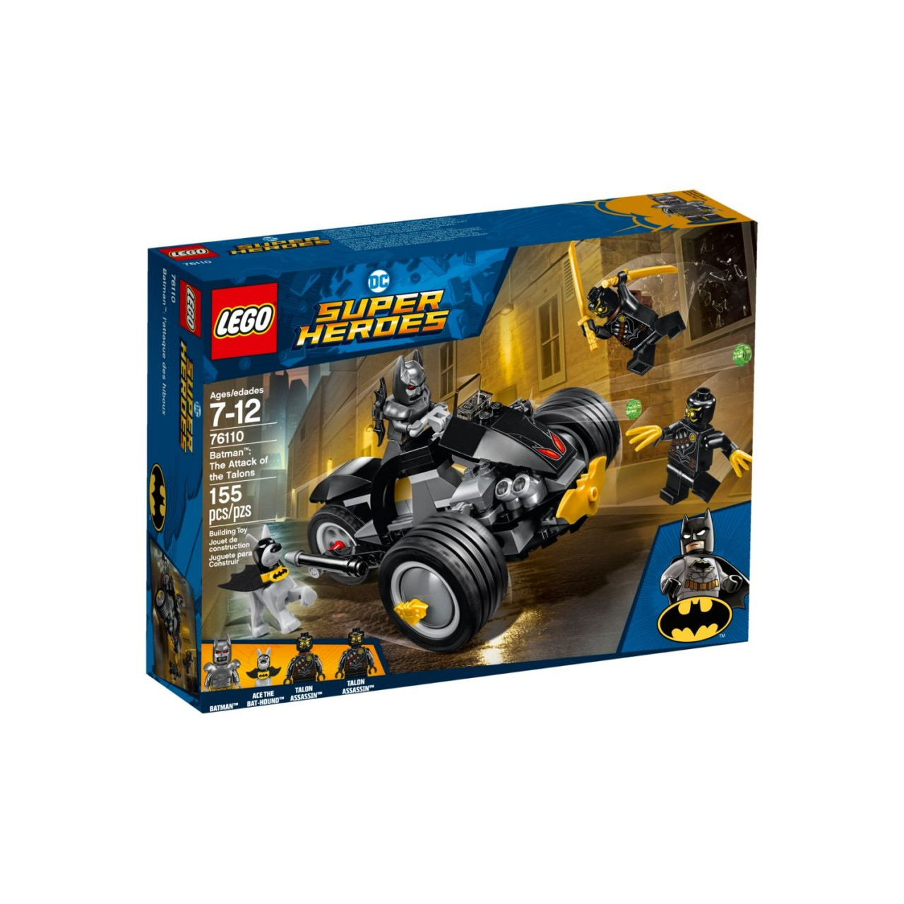 LEGO DC SUPER HEROES 76110 Batman: Attacke der Talons
