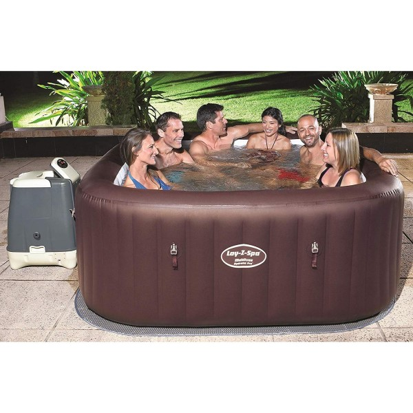 Bestway 54173 Whirlpool Lay Z Spa Maldives HydroJet Pro Heizung Jacuzzi 201x80cm