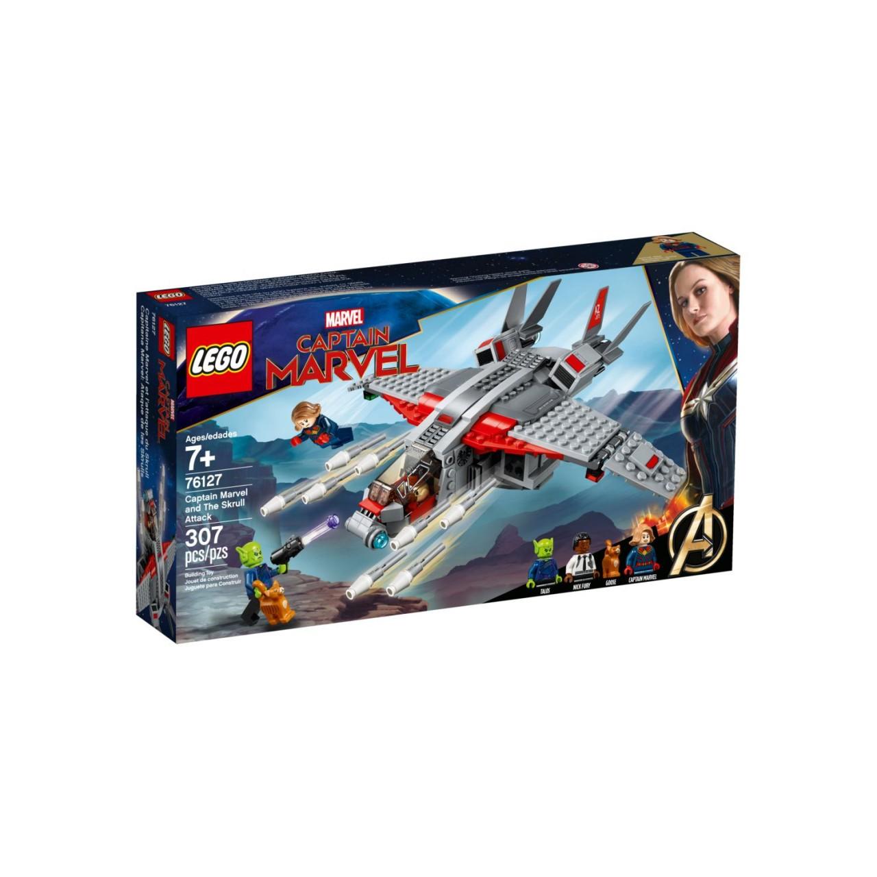 LEGO MARVEL SUPER HEROES 76127 Captain Marvel und die Skrull-Attacke